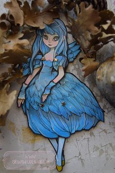 Jointed Articulated Paper Dolls Folk Art by girlwithflaxenhair