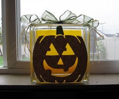 #Glass #Block Pumpkin #kraftyblok
