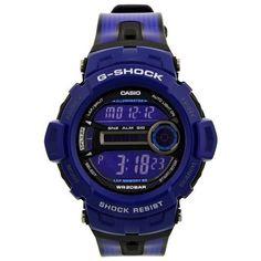 Casio G-Shock Blue Digital Mens Watch Amazing Watches, Beautiful Watches, Cool Watches, Watches For Men, Women's Watches, Wrist Watches, Dream Watches, Sport Watches, After Earth
