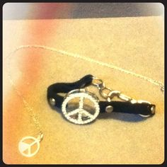 Peace sign necklace Only selling the necklace! jcpenney Jewelry Necklaces