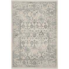 Stylist's Tip: Featuring a traditional floral print, this chic rug lends a touch of sophistication to any space. Use it to liven up your veranda seating grou...