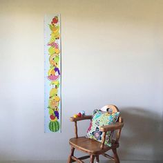 Height Charts by RocketPopCreative on Etsy