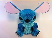 3d origami stitch - Google Search