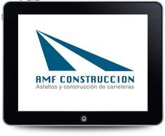Diseño de imagen visual de AMF Construcción