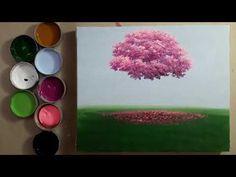 Árvore ipê rosa como Pintar, técnicas acrílico sobre tela - YouTube Make It Yourself, Videos, Youtube, Painting, Canvas Art, Landscape, Painting On Fabric, Frames, Acrylic Art