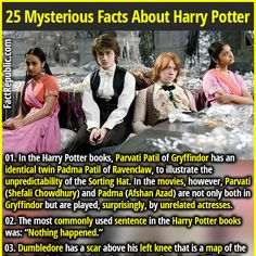 25 Magical & Mysterious Facts About Harry Potter - Part 4 Harry Potter Fun Facts, Harry Potter Parts, Slytherin Harry Potter, Potter Facts, Harry Potter Books, Harry Potter Love, Harry Potter World, Harry Potter Memes, Ravenclaw