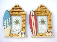 Set/2 Photo Frames Surf Shack w/ Surfboards 4 X 6 Photo by Florida Gifts, http://www.amazon.com/dp/B004IPUS9Q/ref=cm_sw_r_pi_dp_2Ge-rb0P4YHMP