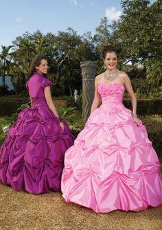 2011 Style Ball Gown Strapless Hand Made Flower Sleeveless Floor length Taffeta White Prom Dress Evening Dress SZ038072