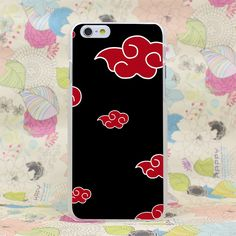 Akatsuki Cloud Hard Transparent Case Cover for iPhone //Price: $9.00 & FREE Shipping //     #fandom #fandomexpress #sale #discount #loveit #pinit #anime #dragonballz #dbz #dragonballsuper #dbs #naruto #boruto #ecchi #sarada #sasuke #sakura #himawari #hinata #kyuubi #ninetails #manga