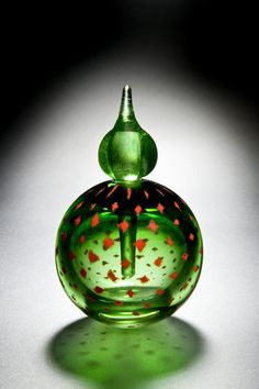 Red Bud Perfume Bottle 2010 Cathryn Shilling