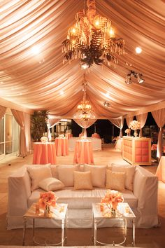 Perfectly Peach Lounge by Social - Special Occasions Event Planning