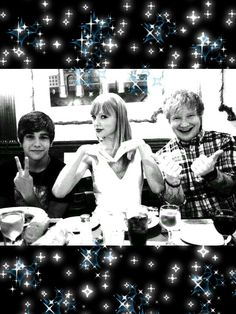 Taylor swift and Ed Sheeran!