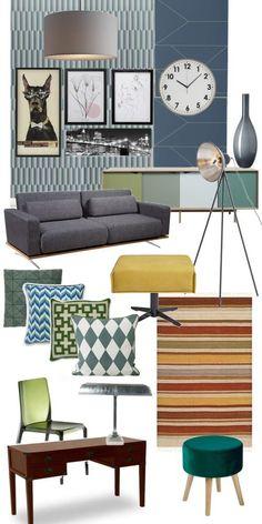 Vintage Interior Industrial Style Mit Gedeckten Tönen Und Materialmix  Kreative Einrichtungsideen Für Mein Wohnzimmer. #