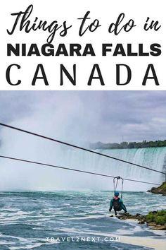 10 amazing things to do in Niagara Falls niagarafalls niagara waterfall canada travel traveltips Vancouver, Toronto, Alberta Canada, Columbia, Visiting Niagara Falls, Canada Destinations, Visit Canada, Canada Trip, Canada Canada