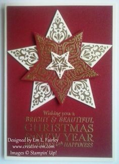 Creative Em: More Bright and Beautiful Stampin' Up Christmas