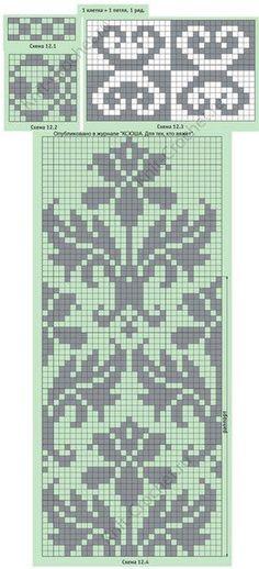 New knitting needles sizes mittens pattern 47 Ideas Fair Isle Knitting Patterns, Knitting Charts, Loom Patterns, Knitting Designs, Knitting Stitches, Cross Stitch Patterns, Knitting Needles, Beading Patterns, Crochet Patterns