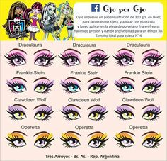 Ojitos monster high