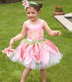 flower fairy child costume