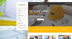 Flatbuild - Construction Drupal Theme . Flatbuild- is clean construction & business Drupal Theme and retina ready. It is great, professional and easy to use theme. You can use it for, business, construction, renovation, electricy, isolation