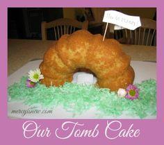 How we made our Tomb Cake @Mercyisnew.com