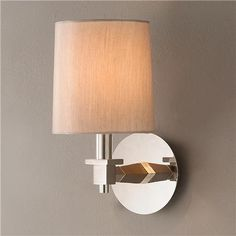 New Directions Wooden Arm Wall Sconce
