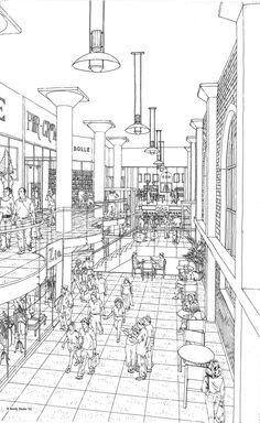 Perspective Guides: How to Draw Architectural Street