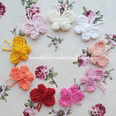 Crochet Butterfly Free Pattern | Beautiful Crochet Stuff