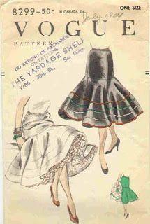 .História da Moda.: Anos 50 -
