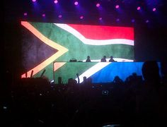 We came, We raved, We loved it. <3  Swedish House Mafia's One Last Tour: Jhb Edition