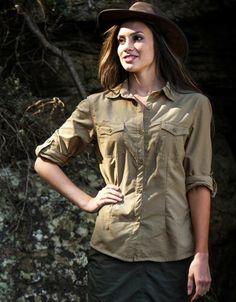 BUGTech™ Women's Shirts :: New BUGTech™ Range :: The Safari Store :: Essential Safari Clothing, Safari Luggage, Safari Accessories. FREE Safari Packing Lists & Expert Advice.