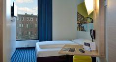 Einzelzimmer im B&B Hotel Münster-Hafen
