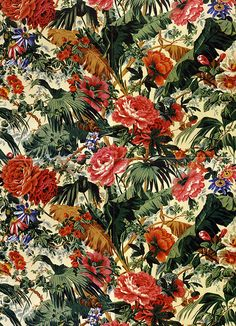 Fabric design by philip jacobs, via Flickr