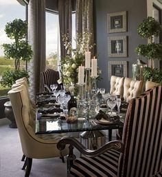 Set the Tone: 8 Colors for an Inviting Dining Room | Pinterest ...