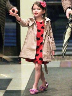 suri cruise, little girl style