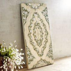 Floral Capiz Mosaic Wall Panel Mirror Tiles Indonesia