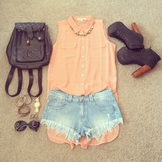 summer wear. summer outfit