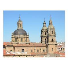 Iglesia de la Clerecia, Salamanca Postcard