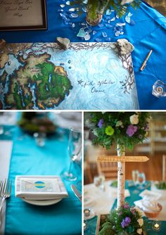map as guestbook. :)