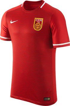 41e3d8dec Nike China 2015-2016 Home Kit Released - Footy Headlines Football Team  Kits