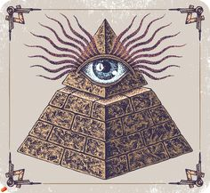 Here, it represents the all-seeing eye of God and is a reminder that a Mason's thoughts and deeds are always observed by God (who is referred to in Masonry as the Great Architect of the Universe). - Popular among conspiracy theorists is the claim that the Eye of Providence shown atop an unfinished pyramid on the Great Seal of the United States indicates the influence of Freemasonry in the founding of the United States.