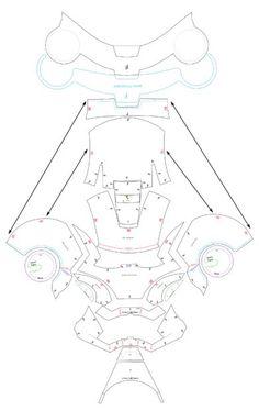 Ironman helmet template | Armor | Pinterest | Helmets, Template and Iron
