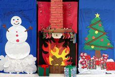 classroom doors decorations ideas | ALERT - Christmas Door