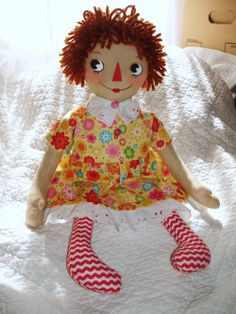 Raggedy Ann by My Disgusted Cats, from My Disgusted Cats pattern.