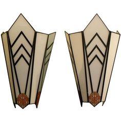 Art Deco theater sconces .... we could make decorative sconces easy enough.