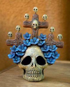 Mexican Folk Art Skull
