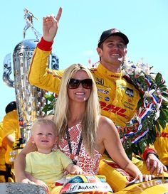 Ryan Hunter-Reay won the Indy500