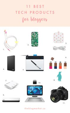 Tech Products for Creative Bloggers | The Blog Market