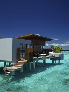 Exterior view of a Park Water Villa at Park Hyatt Hadahaa Resort Maldives Resort, Maldives Travel, Maldives Bungalow, Maldives Honeymoon, Dream Vacations, Vacation Spots, Vacation Club, The Places Youll Go, Places To Go