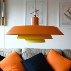Danish Lamp Gradient Yellow, 330€, now featured on Fab.