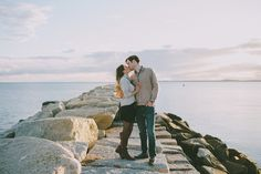 Fall Engagement Session in Maine | Jamie Mercurio Photography | Kennebunkport, Maine | Reverie Gallery Wedding Blog